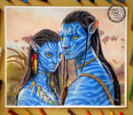Neytiri and Jake Sully | Avatar