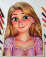 Rapunzel by Daviddiaspr