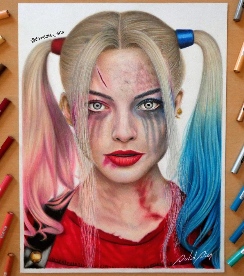 Harley Quinn Daviddiaspr Deviantart