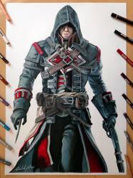 Shay Cormac - Assassin's Creed Rogue by Daviddiaspr