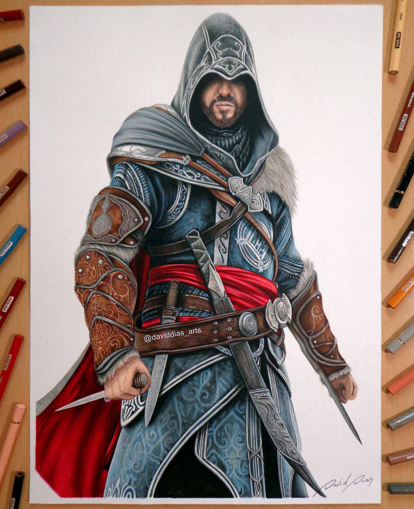 Ezio Auditore (Assassin's Creed Revelations) by Daviddiaspr