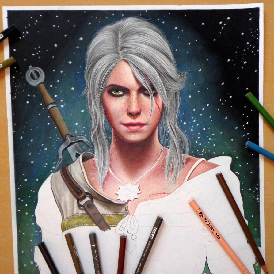 WIP - Ciri (The Witcher 3) by Daviddiaspr