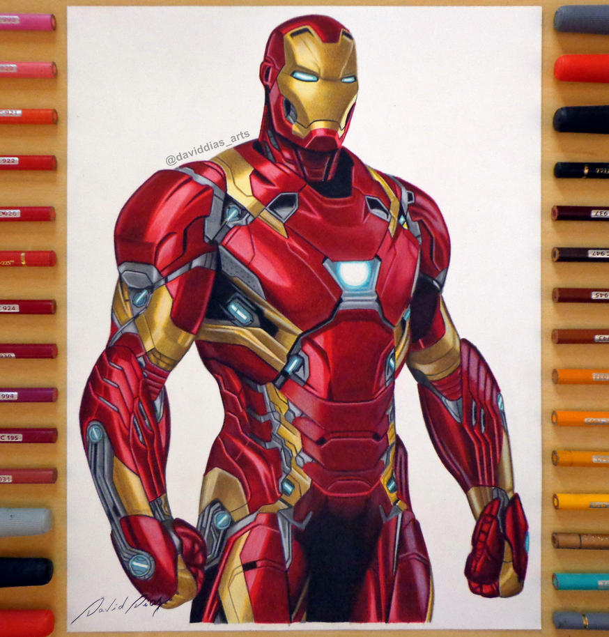 Iron Man | By: David Dias by Daviddiaspr