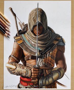 Bayek of Siwa - Assassin's Creed Origins by Daviddiaspr