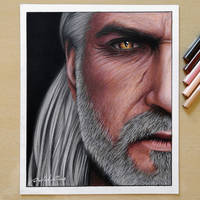 Geralt (The Witcher 3) by Daviddiaspr
