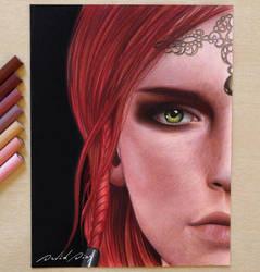Triss Merigold (The Witcher 3) by Daviddiaspr