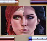 Triss and Yennefer (The Witcher 3)