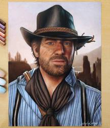 Arthur Morgan - Red Dead Redemption 2 by Daviddiaspr