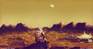 Mars colony 2050