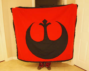 Star Wars blanket comission- Rebel side by WhimsicalSquidCo