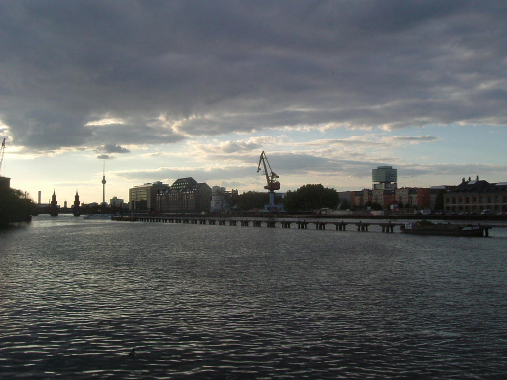 East Skyline by Blackscorpio