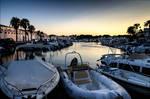 Cala'n Bosch Marina at Sunset