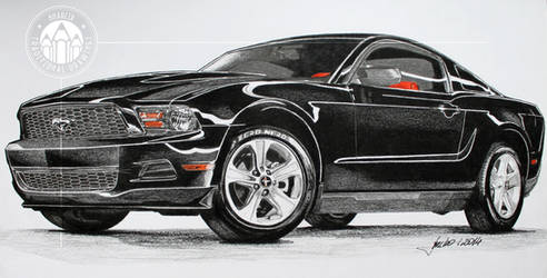 Ford Mustang V6 2011 by kharcix