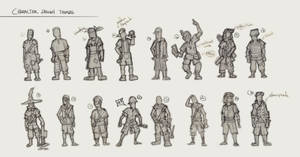 Character Design Thumbs