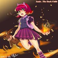 League of Legends - Annie, The Dark Child by kri0921