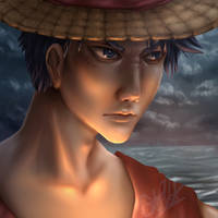 Into the Battle - Luffy