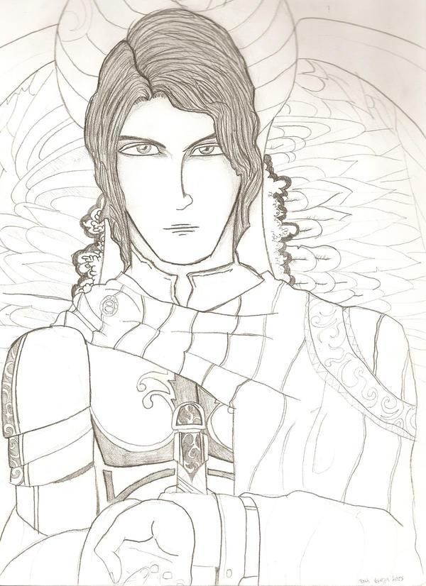 Saint Michael The Archangel 2 by tash48 on deviantART