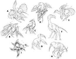 Postchicken Studies by thomastapir