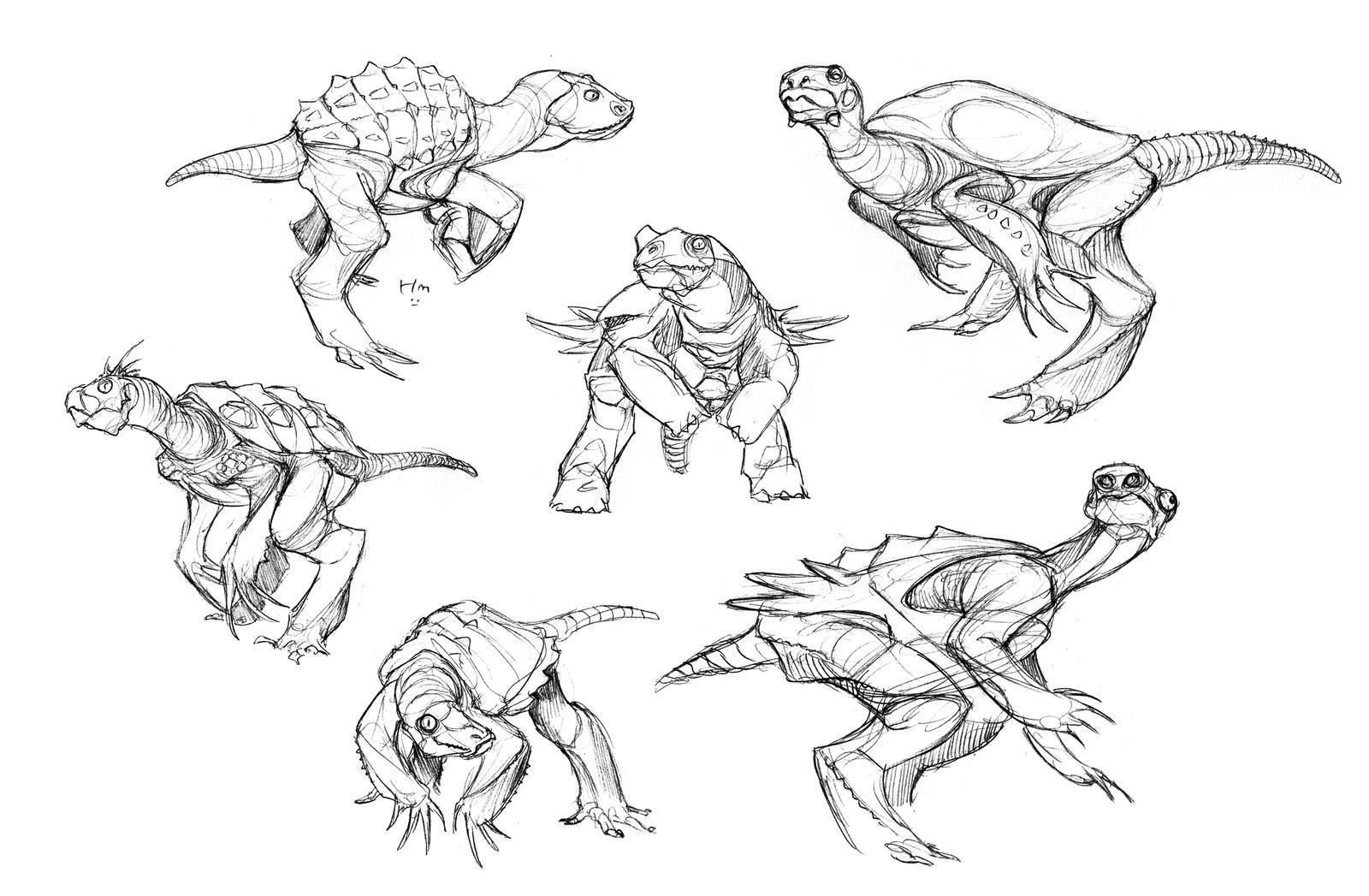 Therochelon Studies by thomastapir