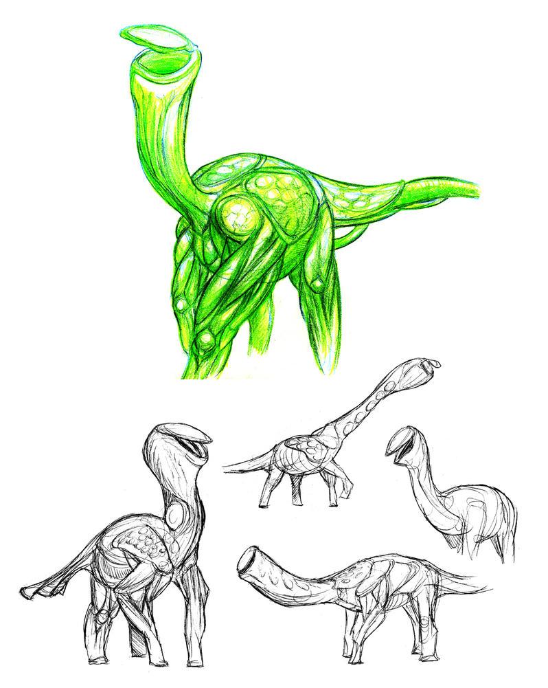 Venusian Pitcherpod Studies by thomastapir
