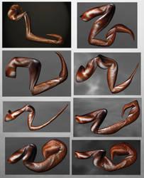Stomatoborg Limb Studies