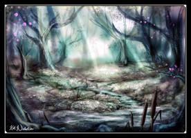 Enchanted Hush by KatCardy