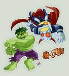 Hulk Vs Death's Head Tribute