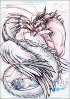 Araniel's Dragons by KatCardy