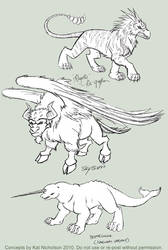 Beastly Concepts by KatCardy