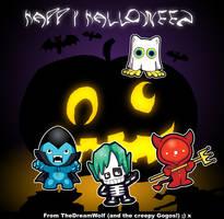 Gogo Crazy Halloween by KatCardy