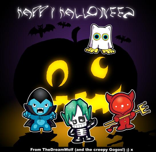 Gogo Crazy Halloween by Kat-Nicholson