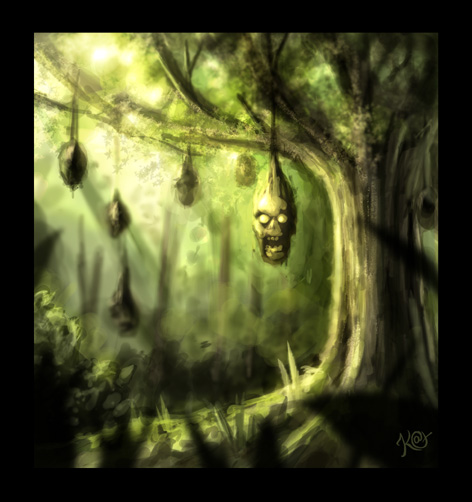 The Hanging Tree - Speed Paint