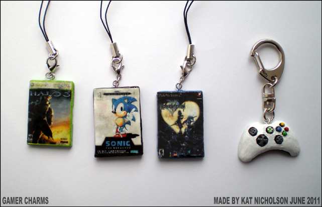 Gamer Charms by Kat-Nicholson