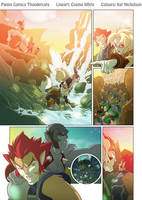 ThunderCats 1 page 1 cols by KatCardy