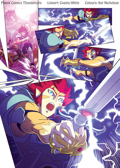 ThunderCats 1 page 9 cols by Kat-Nicholson