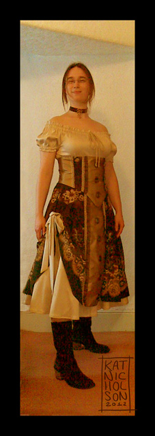 preview: Steam Punk Dress... by Kat-Nicholson