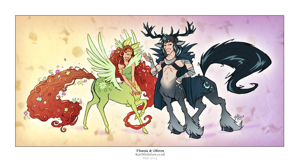Titania and Oberon by Kat-Nicholson