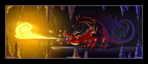 I AM FIRE... by KatCardy