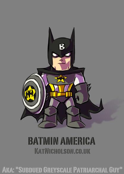 Batmin America by Kat-Nicholson