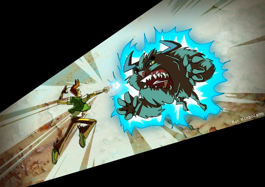 Sentinel - Monster Hunter by Kat-Nicholson