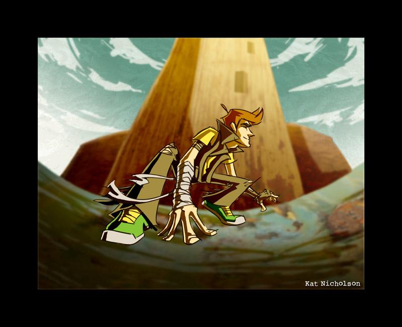 Sentinel - Saul in Situ by Kat-Nicholson