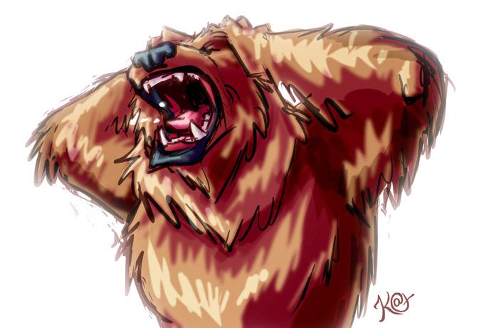 Feelin' Grizzly by Kat-Nicholson
