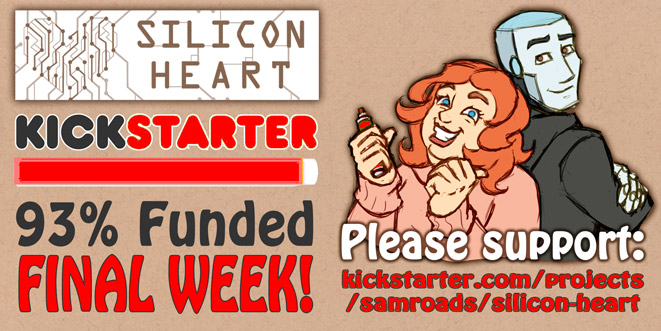 Silicon Heart Kickstarter FINAL WEEK! by Kat-Nicholson