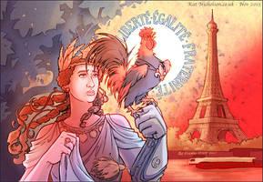 Liberte Egalite Fraternite + charity auction
