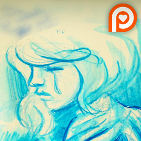 Wisdom of the world sketch page teaser by Kat-Nicholson
