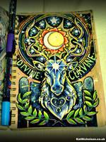 Divine Cervine by KatCardy