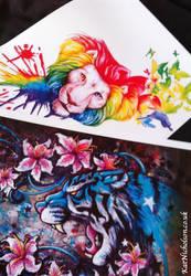 Prints ^_^ by KatCardy