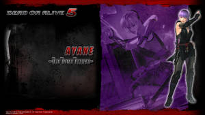 DOA5 Ayane Wallpaper by werewolfgold