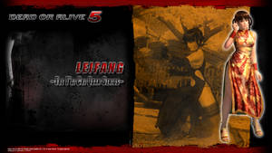 DOA5 Leifang Wallpaper by werewolfgold
