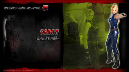 DOA5 Sarah Wallpaper by werewolfgold